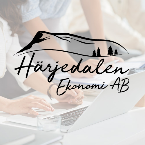 Logotyp Härjedalen Ekonomi