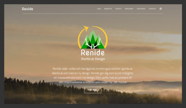 Hemsida Renide