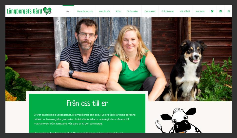 Webbutik Långbergets Gård